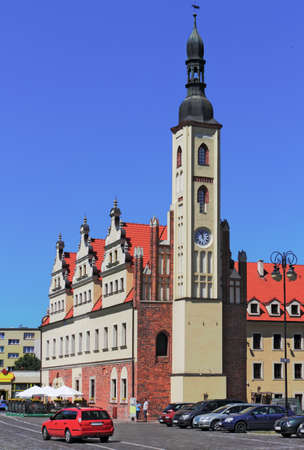 lower lusatia: Old City Hall Guben Editorial