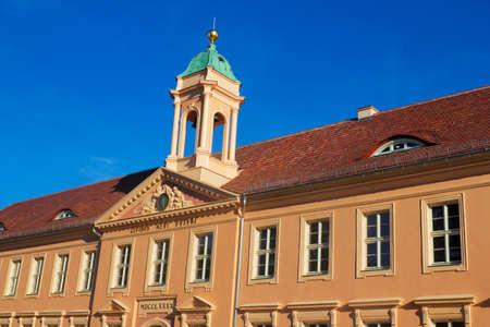 stucco facade: Old Grammar School Neuruppin