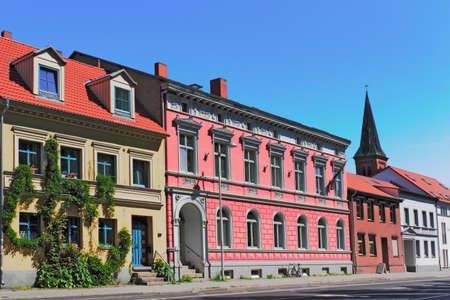 urban idyll: Renovated house line