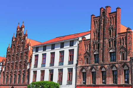 baudenkmal: Greifswald Old City Houses Editorial