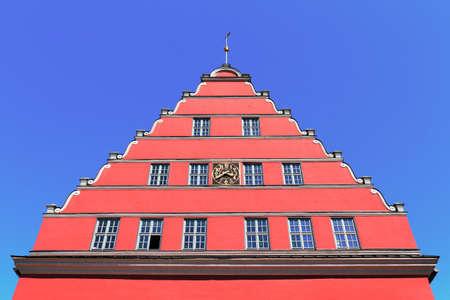 gable house: City Hall Greifswald