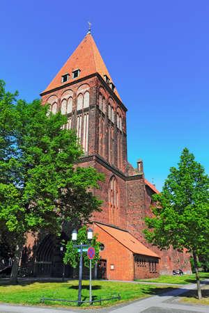 town idyll: Jakobi church