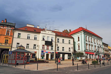 southern poland old building: Tarnow City Center