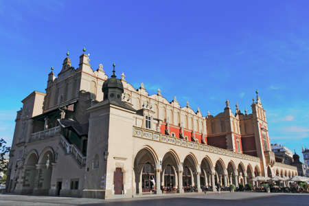 southern poland old building: Cloth Hall in Krakow
