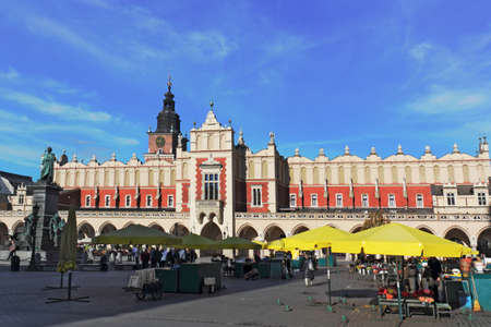 southern poland old building: Cloth Halls in Krakow