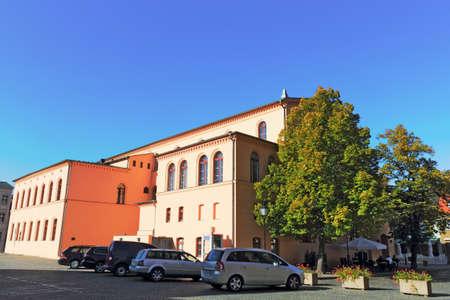 urban idyll: City Hall Luckau Editorial