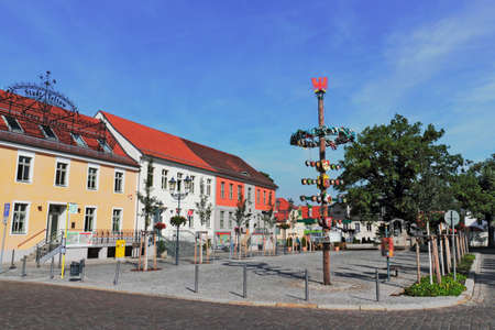Teltow City Hall Square photo