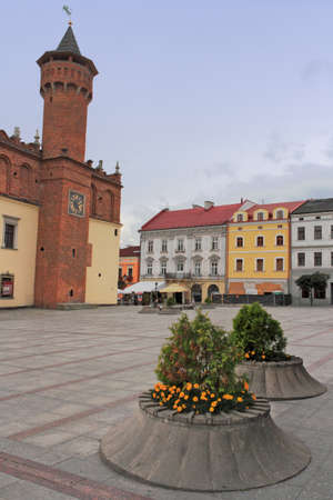 southern poland old building: Tarnow Old City Editorial
