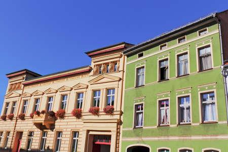 brandenburg home ownership: Old Buildings in Luckau Town