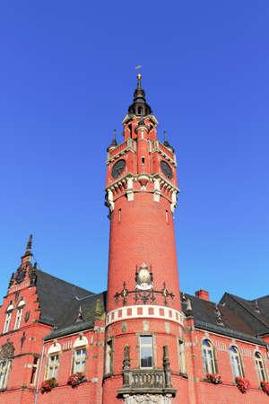 lower lusatia: City Hall Dahme Mark