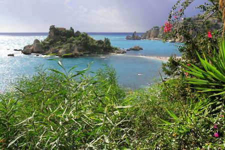 far sighted: Bay of Taormina