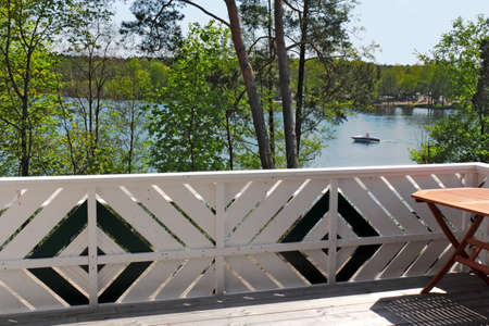 brandenburg home ownership: Living at the water Stock Photo