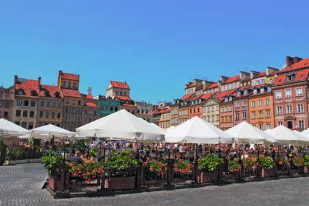 stare miasto: Idyllic town in Warsaw Editorial