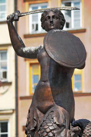 stare miasto: Warsaw Mermaid