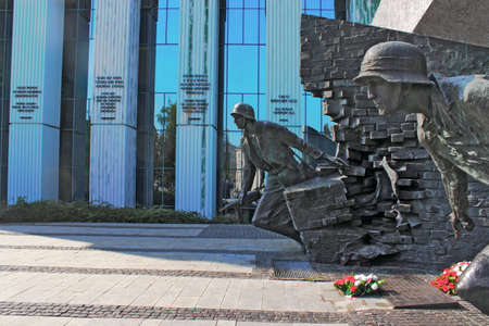 polska monument: Monument to the Warsaw Uprising