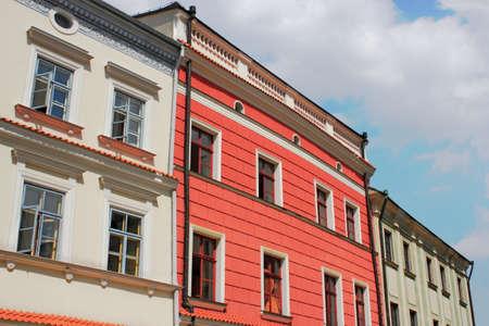 renovated: Renovated House Line Stock Photo