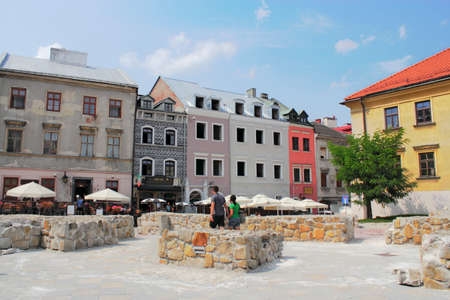 town idyll: Lublin - old city Editorial