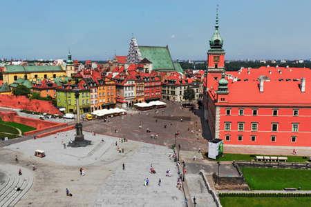town idyll: Warsaw
