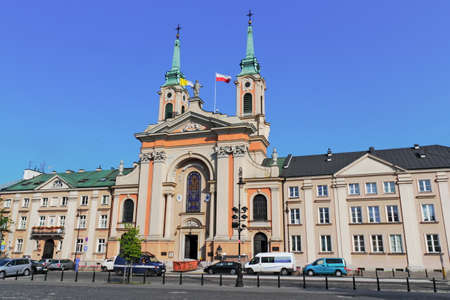 urban idyll: Field Cathedral of the Polish Army,