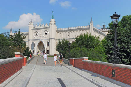 town idyll: Lublin Palace Editorial