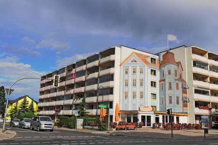 brandenburg home ownership: Erkner City Center Editorial