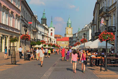 town idyll: City Life in Lublin