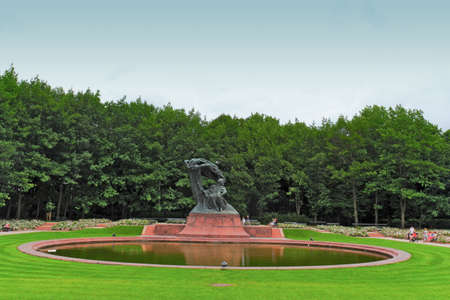 frederic chopin monument: Fryderyk Chopin Memorial Editorial