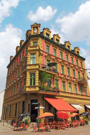 town idyll: old building Editorial