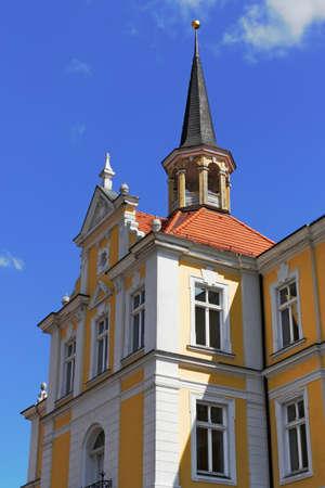 house gable: City Hall in Burg