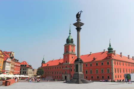 stare miasto: Royal Castle and Sigismund