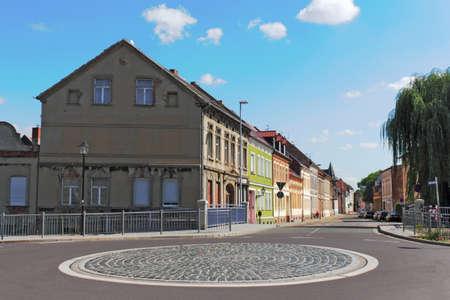 town idyll: Burg near Magdeburg
