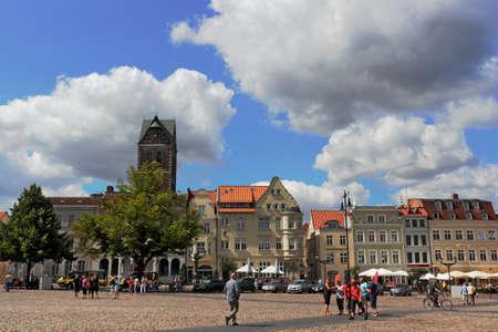 Wismar City Hall Square