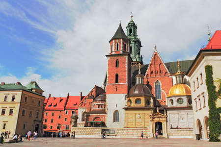 castle conditioning: Cathedral of Krakow Editorial