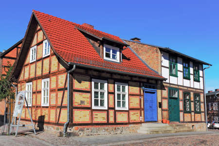 town idyll: Old City of Fuerstenberg Havel
