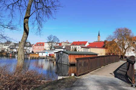 town idyll: Fuerstenberg Havel