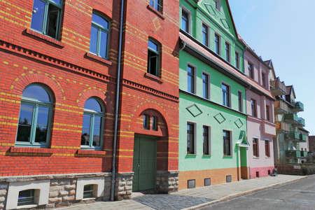 rij huizen: Gerenoveerd rijtjeshuizen