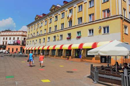 town idyll: Lublin Editorial
