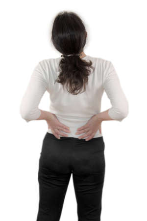 cramping: low back pain