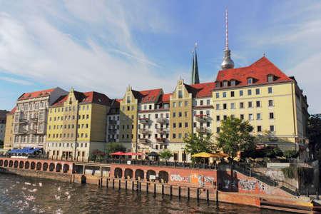 rent index: The river Spree on Nikolai Quarter