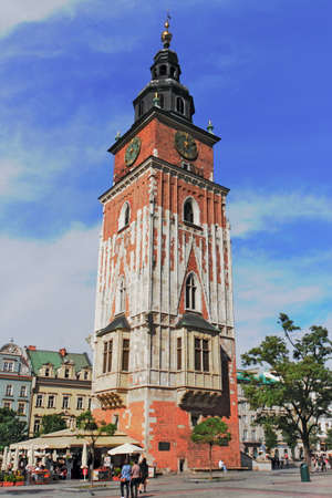 southern poland old building: Krakow Town Hall Tower