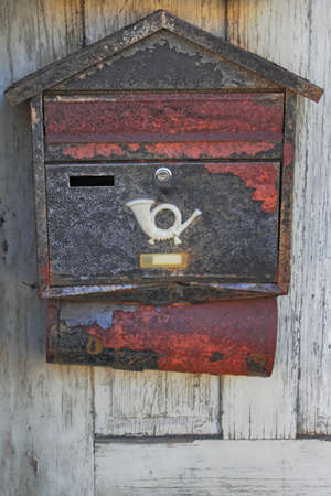 old mail box photo