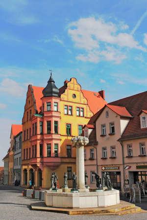 town idyll: Eisleben Knapp Wells