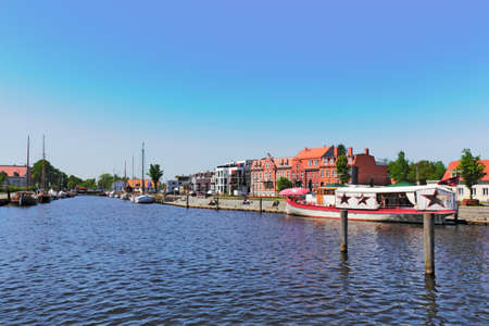 town idyll: Port in Greifswald