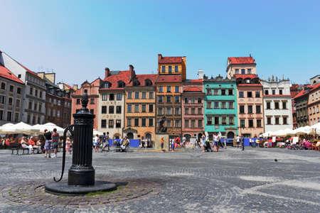 urban idyll: Wasrsaw Stare Miasto