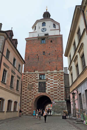 castle conditioning: Lublin Crakow Gate