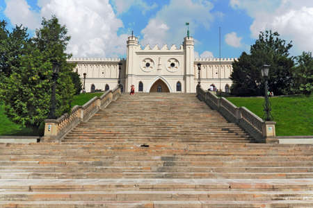 town idyll: Castle Stairs in Lublin