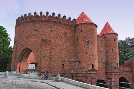 castle conditioning: Warsaw Barbakane Editorial