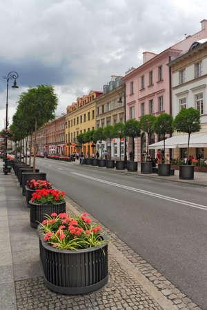 warsaw: Warsaw King´s Street