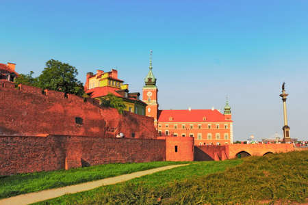 castle conditioning: City walls, castle, Sigismund Editorial