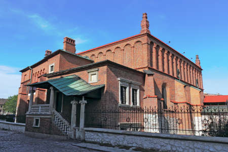 zionism: Old Synagogue in Krakow